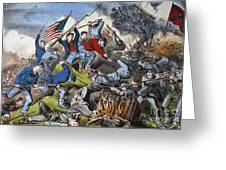 Battle Of Chattanooga 1863 Greeting Card