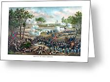 Battle Of Cold Harbor Greeting Card