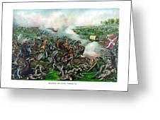 Battle Of Five Forks Greeting Card