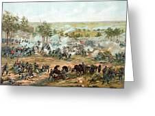 Battle Of Gettysburg Greeting Card