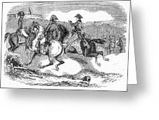 Battle Of Lundys Lane Greeting Card