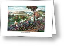Battle Of Missionary Ridge Greeting Card