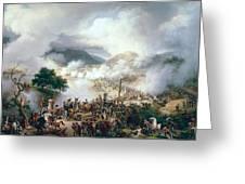 Battle Of Somo Sierra Greeting Card