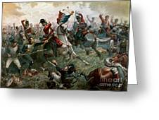 Battle Of Waterloo Greeting Card by William Holmes Sullivan
