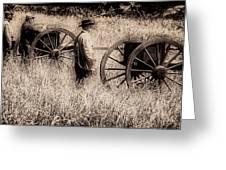 Battle Ready - Gettysburg Greeting Card