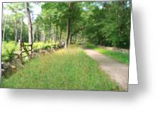 Battle Trail Greeting Card