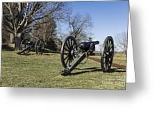Battlefield At Fredericksburg Greeting Card