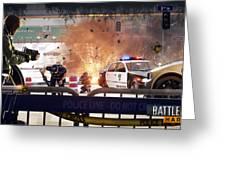 Battlefield Hardline Greeting Card