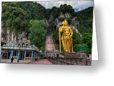Batu Caves Greeting Card