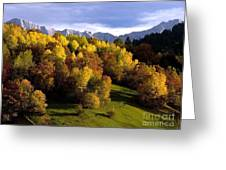 Bavarian Alps 2 Greeting Card