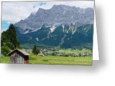 Bavarian Alps Landscape Greeting Card