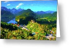 Bavarian Countryside Greeting Card