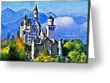 Bavaria's Neuschwanstein Castle Greeting Card
