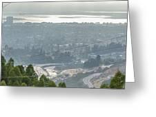 Bay Area Traffic Greeting Card