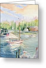 Bay Lady  Greeting Card