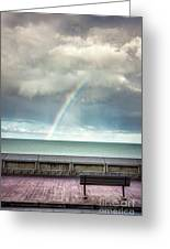 Bay Of Rainbows Greeting Card
