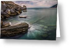 Bay Of The Gulf Of Poets Greeting Card