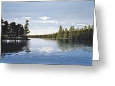 Bay On Lake Muskoka Greeting Card