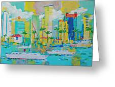 Bay View Greeting Card
