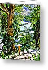 Bay View Tobago Greeting Card