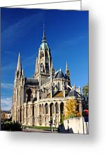 Bayeau Cathedral Greeting Card