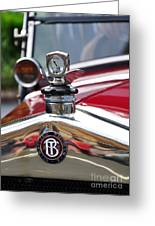 Bayliss Thomas Badge And Hood Ornament Greeting Card