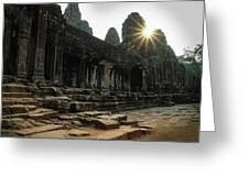 Bayon Temple Greeting Card