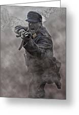 Bayonet Warrior Greeting Card