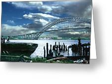 Bayonne Bridge Greeting Card