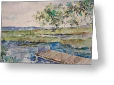 Bayou At Carr Drive  Greeting Card