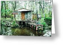 Bayou Cabin Greeting Card
