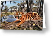Bayou Mike Of Louisiana Greeting Card