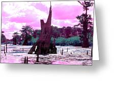 Bayou Pink Greeting Card