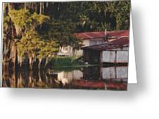 Bayou Shack Greeting Card