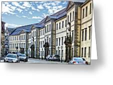 Bayreuth Street Scene Greeting Card
