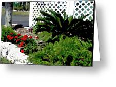 Bayshore Garden Greeting Card