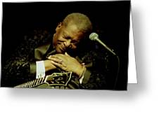 Bb King - Straight From The Heart Greeting Card