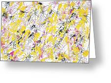 Bumble Bees Against The Windshield - V1cm89 Greeting Card