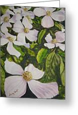Bc Dogwoods Greeting Card