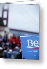 Be For Bern Greeting Card