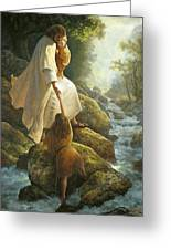 Be Not Afraid Greeting Card by Greg Olsen
