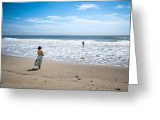Be Safe - Malibu, United States - Color Street Photography Greeting Card