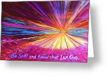 Be Still Greeting Card