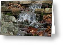 Be Water Greeting Card