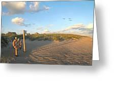 Beach Access 30 Greeting Card