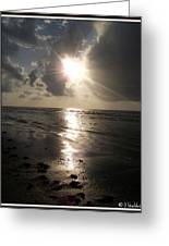Beach After Sunrise  Greeting Card