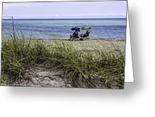 Beach Afternoon Greeting Card