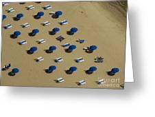 Beach Along Lake Michigan Greeting Card