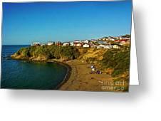 Beach - Ancud Chiloe Greeting Card