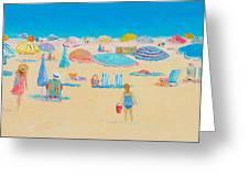 Beach Art - Every Summer Has A Story Greeting Card